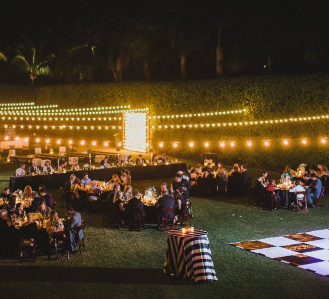 Wedding reception in Southwest Florida managed by Foreman Productions, Inc.