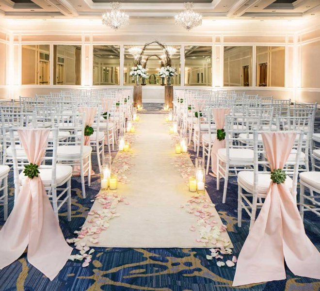 Indoor wedding reception venue in Southwest Florida